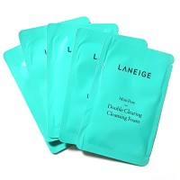Laneige Mini Pore Double Clearing Cleansing Foam 4 ml