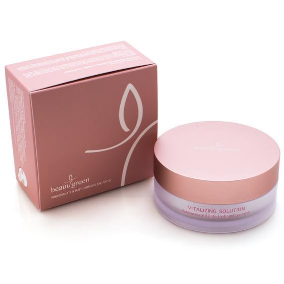 Beauugreen Pomegranate & Ruby Hydrogel Eye Patch 90g (60ea)