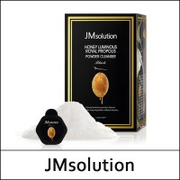JMsolution Honey Luminous Royal Propolis Powder Cleanser [Black]