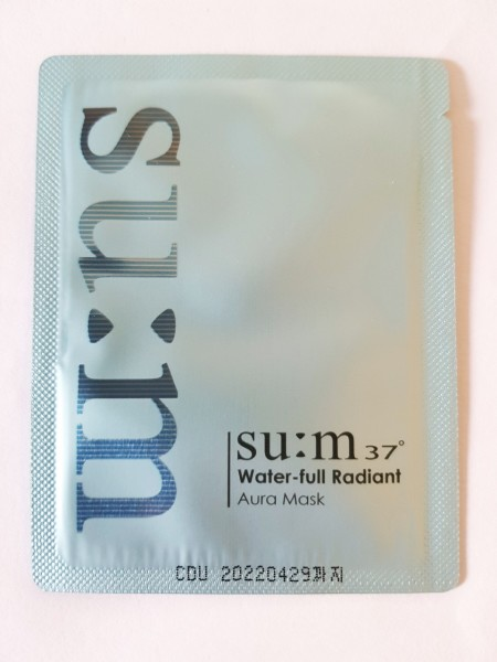 Su:m37˚ Water-full Radiant Aura Mask