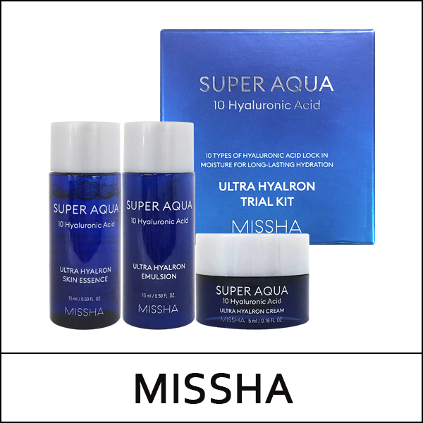 Missha Super Aqua Ultra Hyaluron Trial Kit