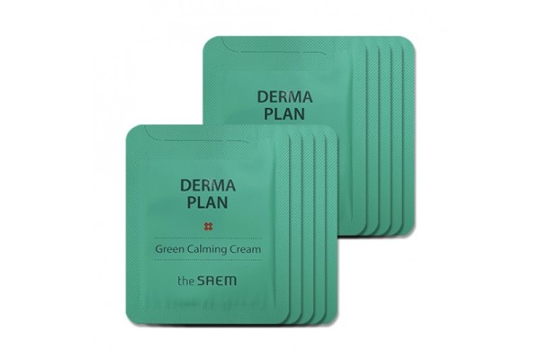 The Saem Derma Plan Green Calming Cream