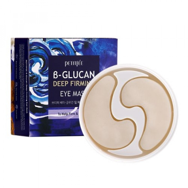 PETITFEE B Glucan Deep Firming Eye Mask (60pcs)