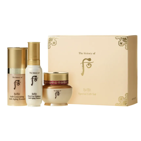 The History of Whoo Bichup 3-Step Special Gift Kit