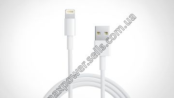 Kабель PowerPlant USB - Lightning (iPhone 5, 5S, 6), 1m