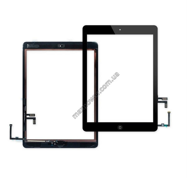 Сенсор для планшета Apple iPad Air Black с кнопкой Home