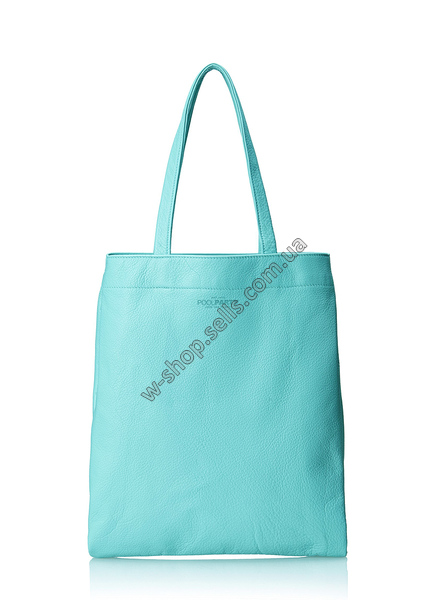 Кожаная сумка POOLPARTY daily-tote-black