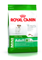 Сухой корм для пожилых собак мелких пород Royal Canin Mini Adult 8 + 0,8 кг.