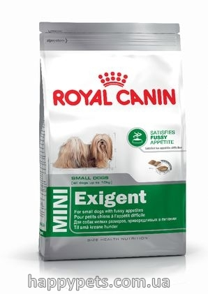 Сухой корм для собак мелких пород Royal Canin Mini Exigent 2 кг.
