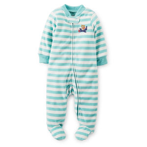 Пижамка Blue and white stripes Carters