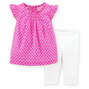 Комплект Pink and white Carters