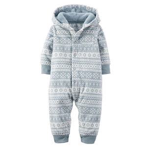Человечек Grey Fair Isle Carters