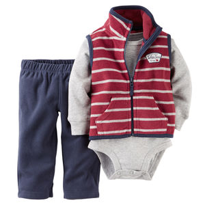 Комплект Dark red and navy Carters