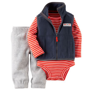 Комплект Bright red Carters