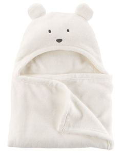 Одеяло Ivory Plush Bear Carters