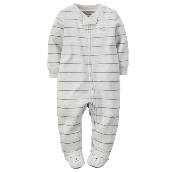Пижамка Heather stripes Carters