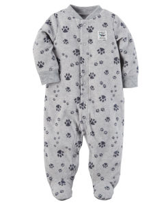 Пижама флисовая Grey Paws Carters