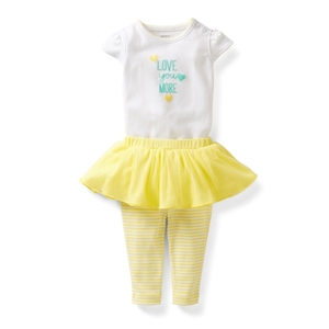 Комплект Bright yellow Carters