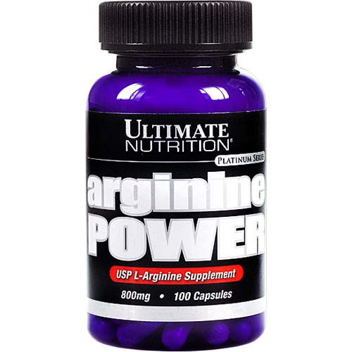 Ultimate Arginine Power Caps 800, 100 капс