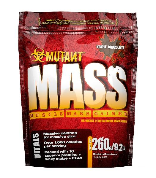 Fit Foods Mutant Mass, 260 гр