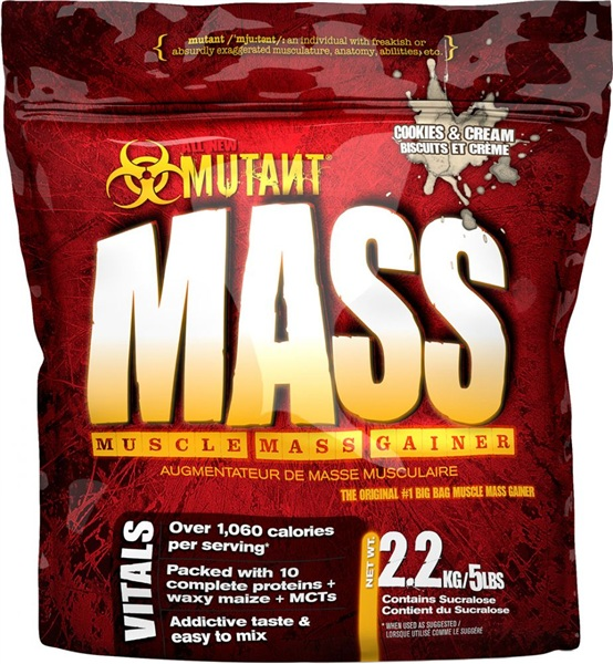 Fit Foods Mutant Mass, 5 lb (2270 гр)