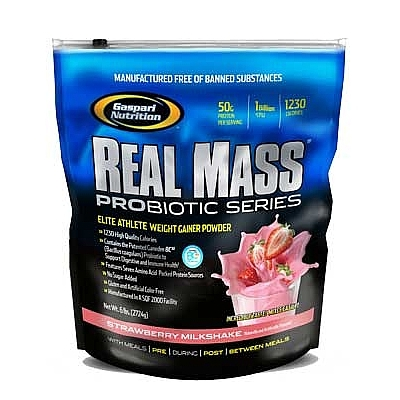Gaspari Real Mass Probiotic, 6 lb (2724 гр)
