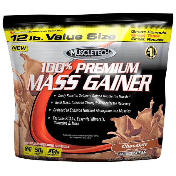 MuscleTech 100% Premium Mass Gainer, 5400 гр