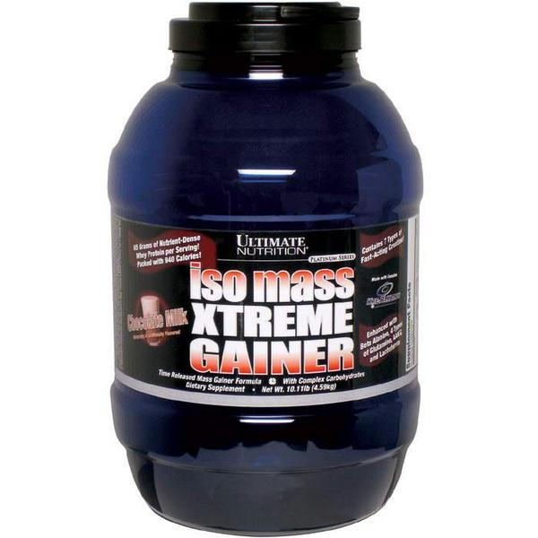 Ultimate ISO Mass Xtreme Gainer, 4590 гр