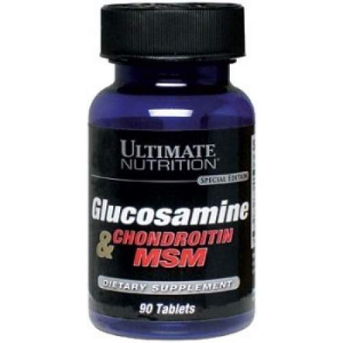 Ultimate Glucosamine + Chondroitin + MSM, 90 таб