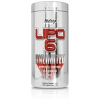 Nutrex Lipo 6 Unlimited, 120 капс