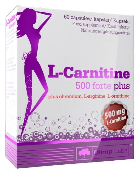 Olimp L-Carnitine 500 forte plus, 60 капс