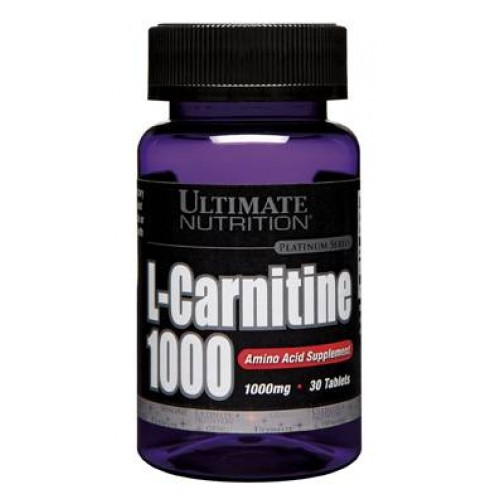 Ultimate L-Carnitine 1000, 30 таб