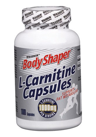 Weider L-Carnitine Capsules, 100 капс