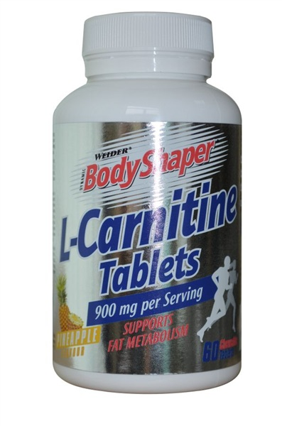 Weider L-Carnitine Tablets, 60 табл