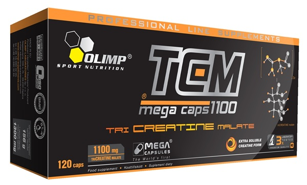Olimp TriCreatineMalat Mega Caps, 120 капс