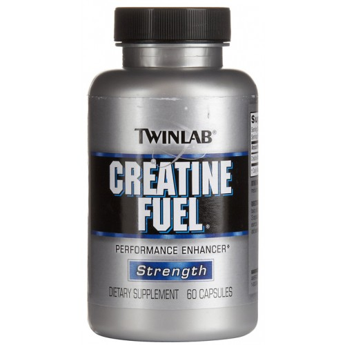 Twinlab Creatine Fuel, 60 капс