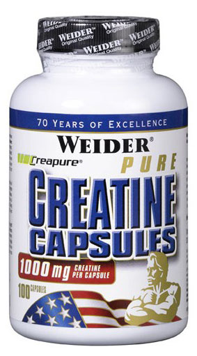 Weider Pure Creatine Сapsules, 100 капс