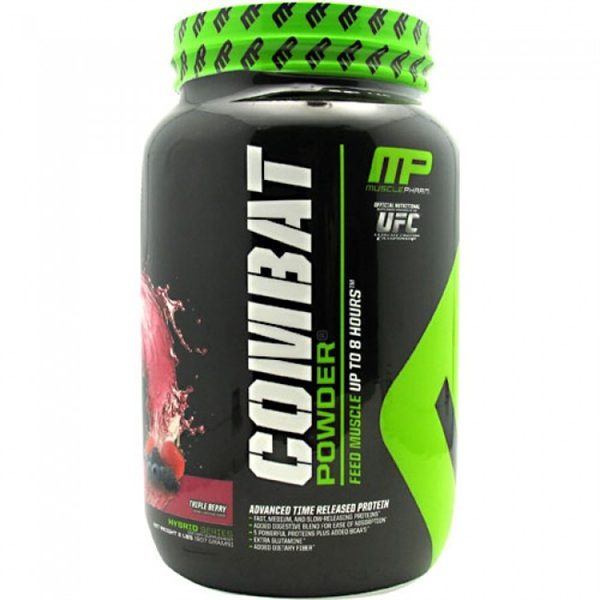 Muscle Pharm Combat Powder, 2 lb (908 гр)