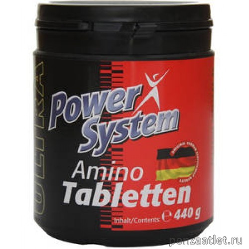 Power System Amino Tabletten, 220 таб