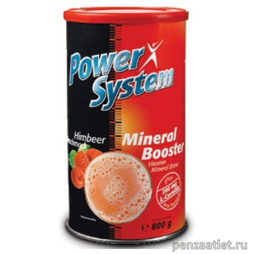 Power System Mineral Booster (+L-Carnitin), 800 гр
