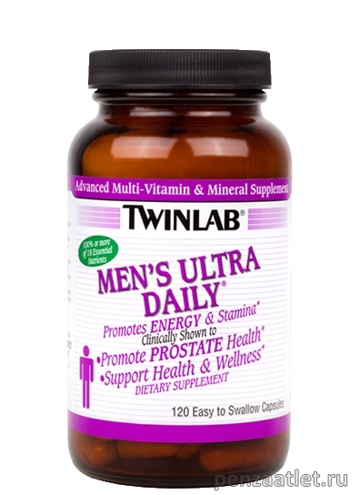 Twinlab Men's Ultra Multi Daily, 120 капс