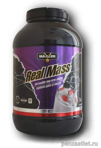 Maxler Real Mass, 10 lb (4540 гр)