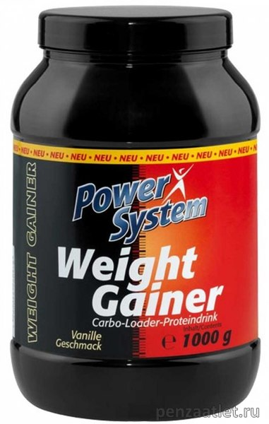 Power System Weight Gainer, 1000 гр