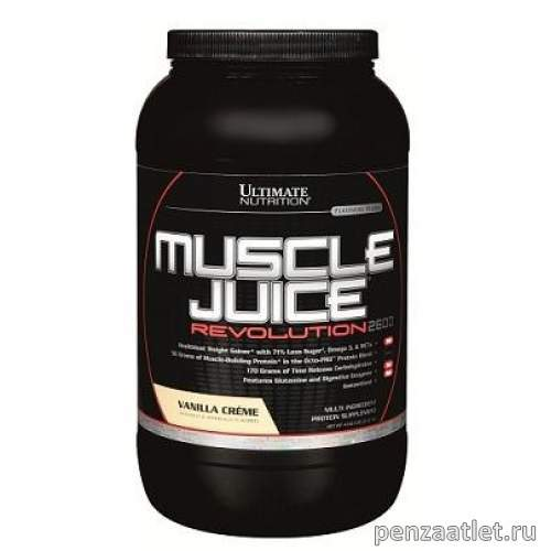 Ultimate Muscle Juice Revolution 2600, 4.69 lb (2120 гр)