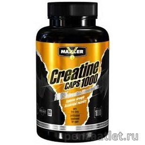 Maxler Creatine Caps 1000, 100 капс