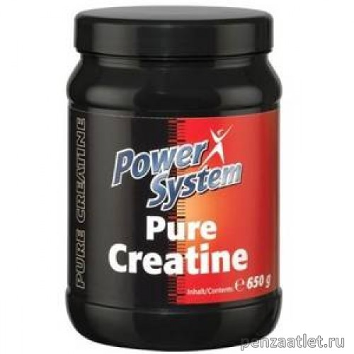 Power System Pure Creatine, 650 гр
