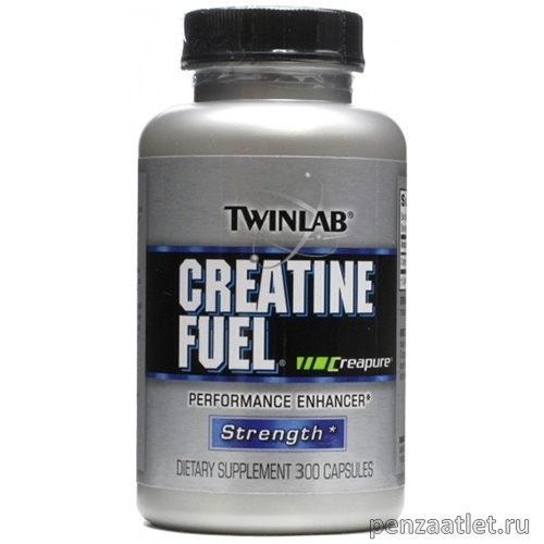Twinlab Creatine Fuel, 300 капс