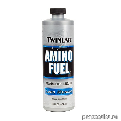 Twinlab Amino Fuel Liquid, 474 мл