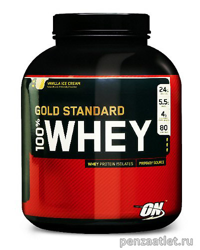 ON 100% Whey Gold Standard, 8 lb (3629 гр)