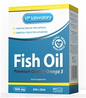 VPLab Fish Oil 1000, 60 капс